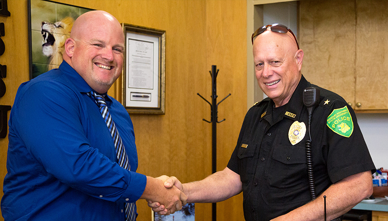 Lucas Farley sworn in as UPD police officer