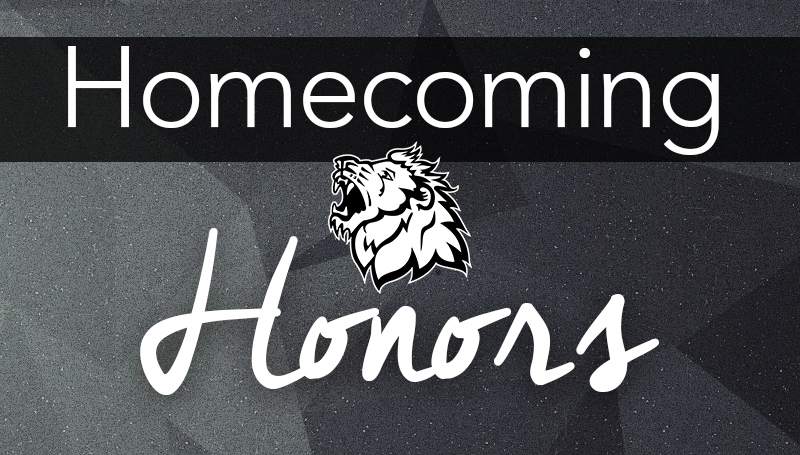 Emily Dredd, Matt Hall and Roderique family slated for Homecoming honors