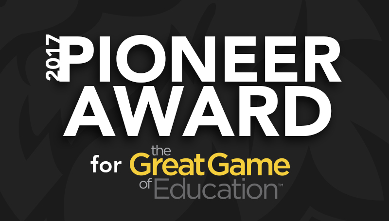 Missouri Southern receives 2017 Pioneer Award for Great Game of Education
