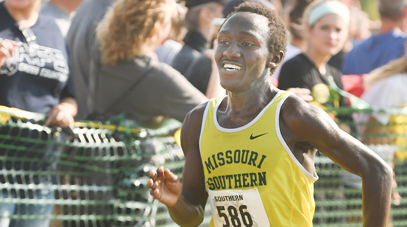 Kiptoo Named MIAA Men's Cross Country Runner of the Week