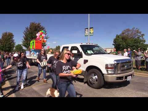 Homecoming Parade Covered by KGCS-TV