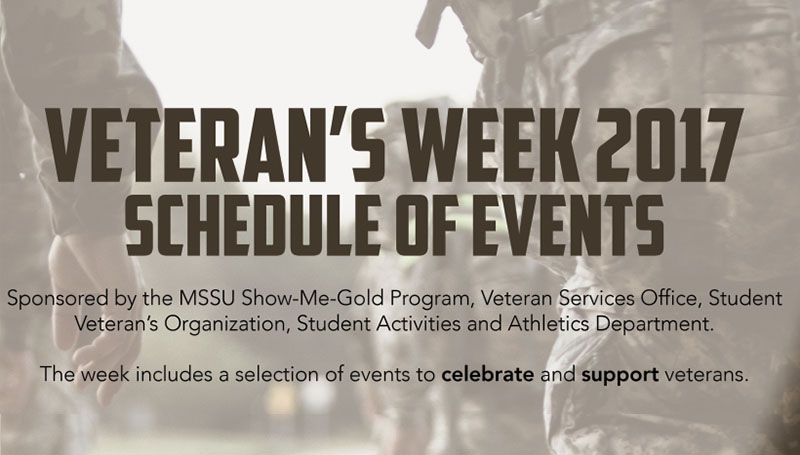 Veterans Week activities to kick off Nov. 4