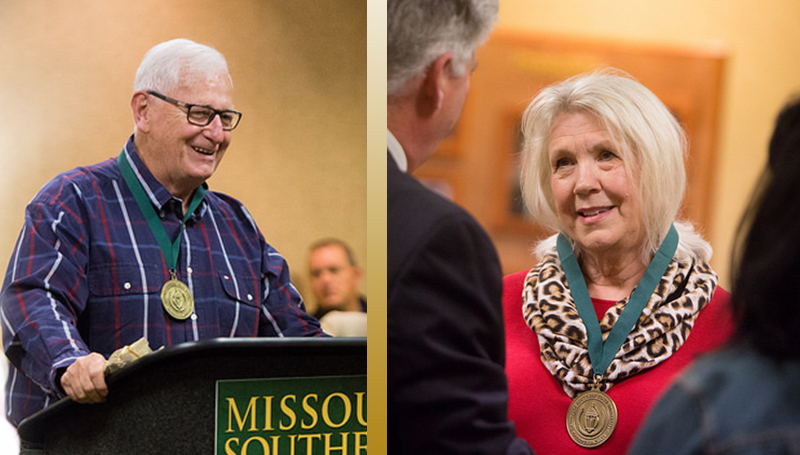 Spurlin, Brown awarded faculty emeritus status