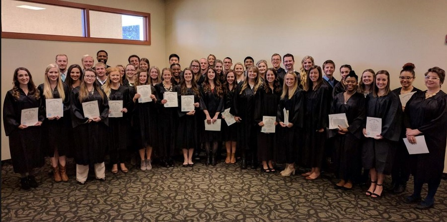 Students, faculty inducted into Omicron Delta Kappa chapter
