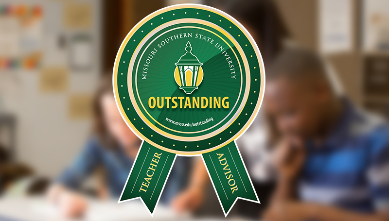 Nominations sought for Outstanding Teacher, Advisor awards