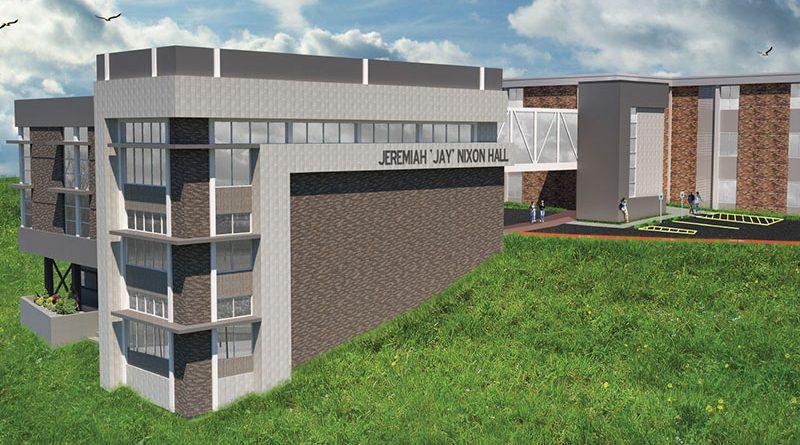 Construction of Nixon Hall begins at Missouri Southern