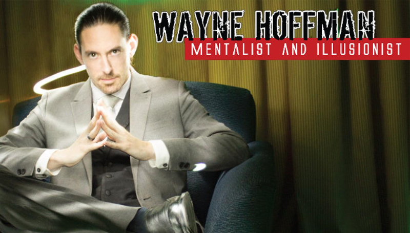 Mentalist Wayne Hoffman to perform Feb. 27