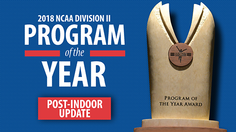 Men's Track and Field/Cross Country In 7th For USTFCCCA Program of the Year Standings