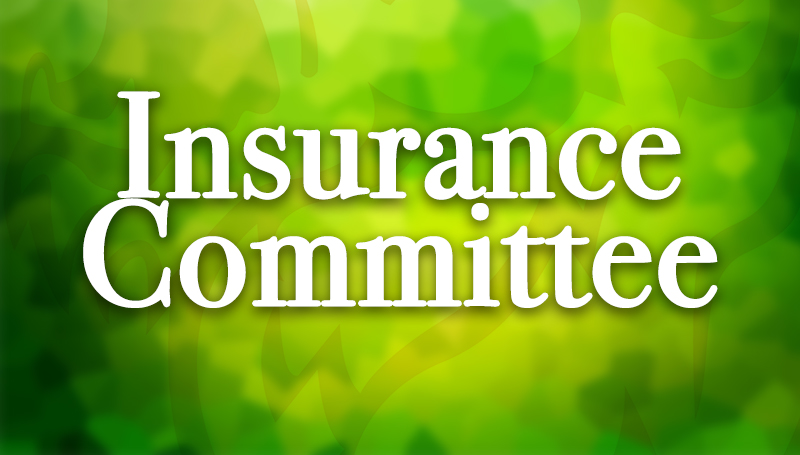 Insurance Committee announces meeting dates