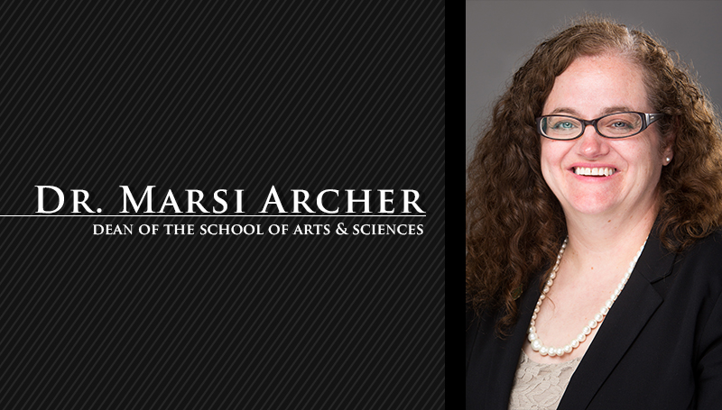 Archer named dean of Arts & Sciences