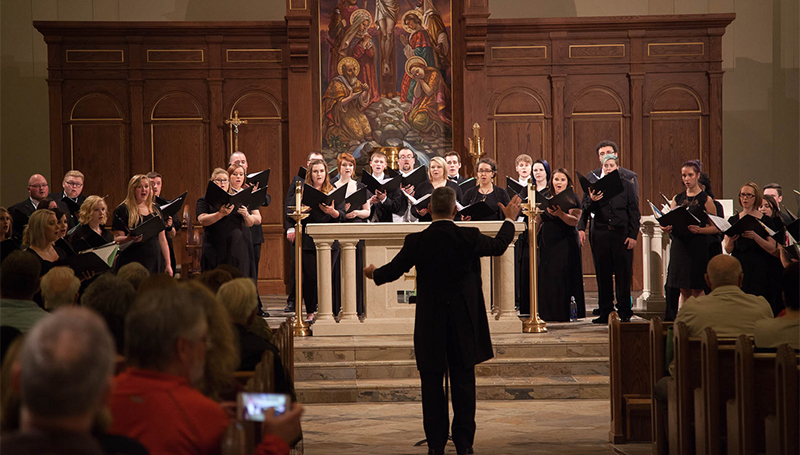 Spring Choral Concert to feature new work by acclaimed composer