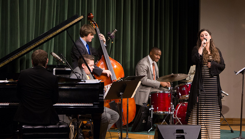 Jazz combos to perform on campus and at Gusano's