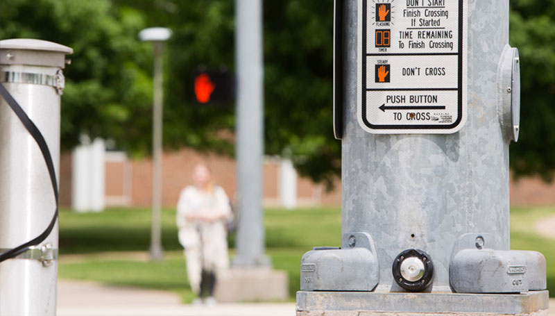 MODoT project will help make campus more pedestrian friendly
