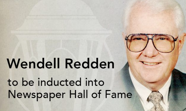 Wendell Redden to be inducted into Newspaper Hall of Fame