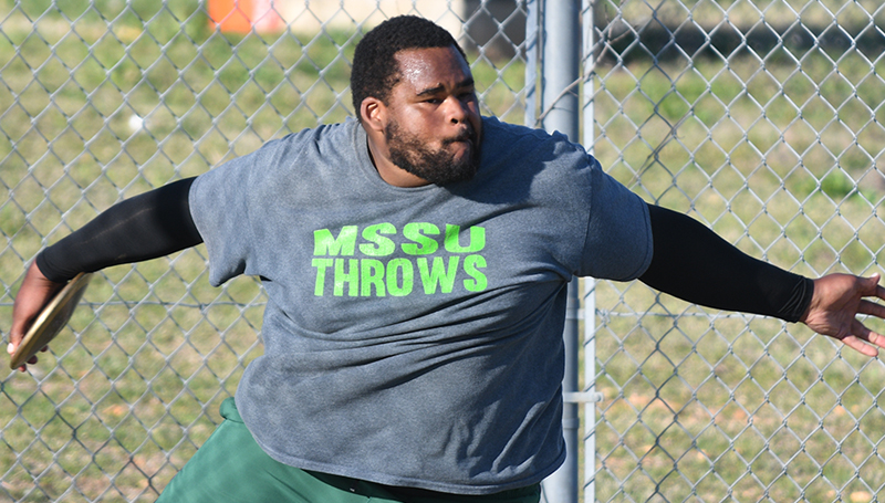 Bryan Burns Wins National Championship In Discus