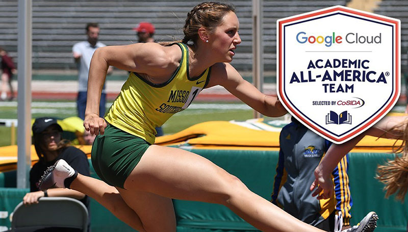 Allie Heckemeyer Named Google Cloud/CoSIDA Academic All-American