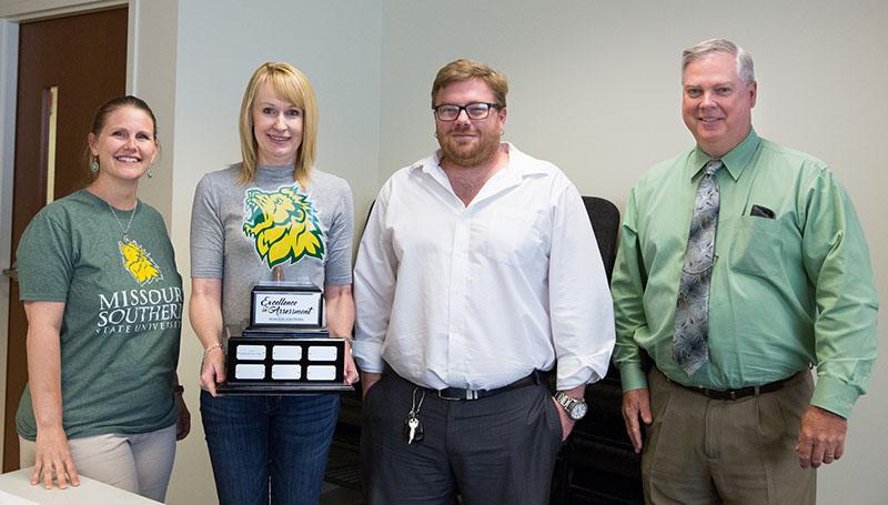 Student Success Center receives assessment award