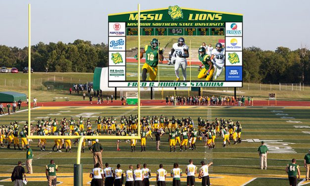 Donor-funded videoboard at MSSU's Fred Hughes Stadium to be one of the largest in Div. II