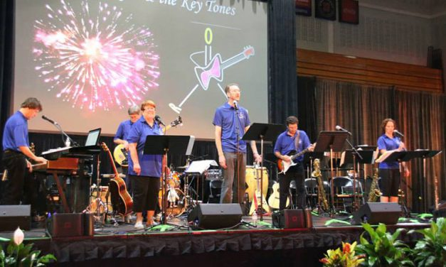 Musical chemistry: Garoutte shares vocal duties during biennial conference concert