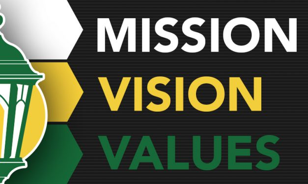 University sets new mission, vision and values