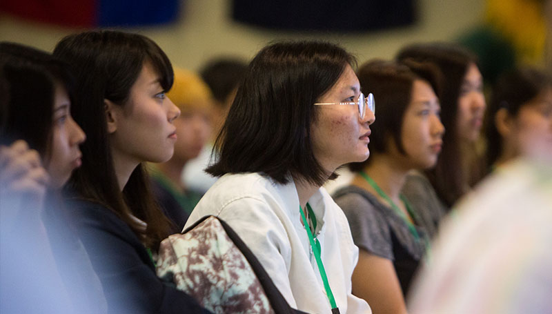 Turnout high for international orientation event