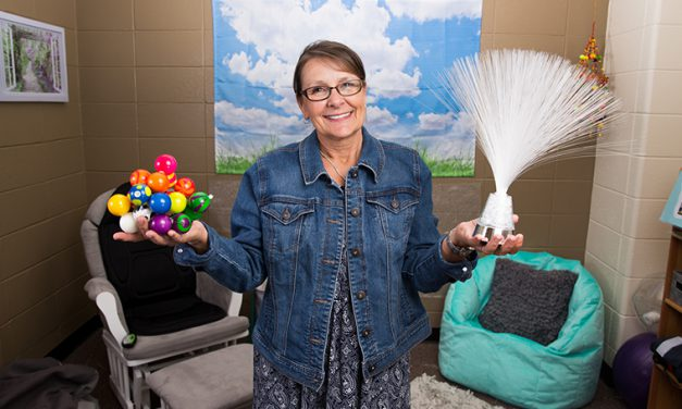 New sensory room offers place for campus community to de-stress