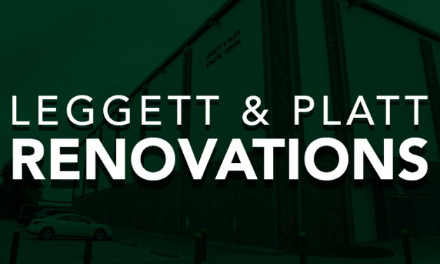 Renovations underway in Leggett & Platt Athletic Center