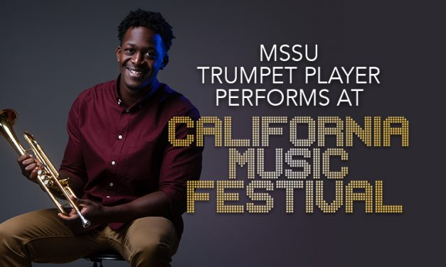 MSSU trumpet player performs at California music festival