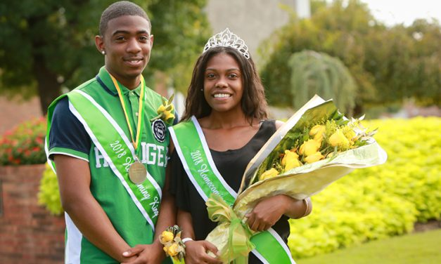 Prothro, Silerio crowned 2018 Homecoming King and Queen at MSSU