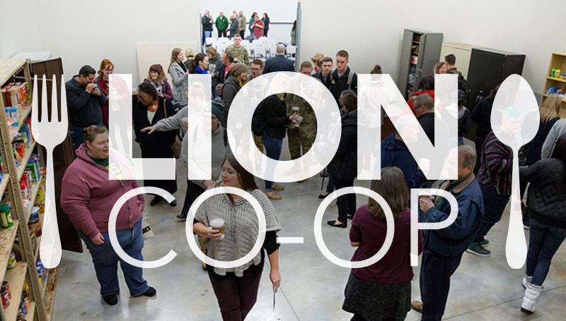 Ribbon Cutting for Lion Co-op