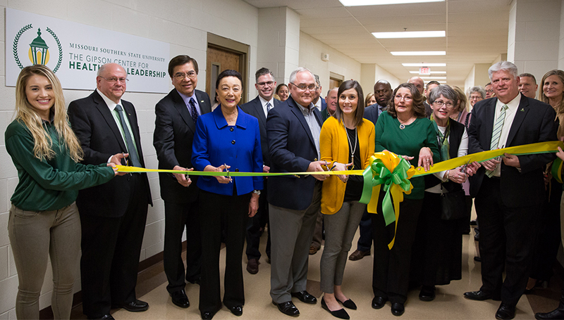 Missouri Southern announces Gipson Center for Healthcare Leadership