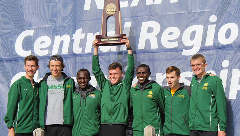 Men's Cross Country, Kimutai Sweep Central Region Championships
