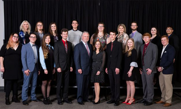 Reception honors 2018 Humphreys Scholars