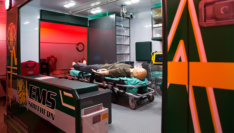 New ambulance simulators offer 'profound' learning opportunity