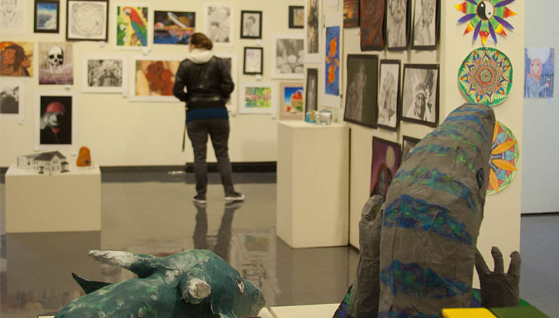 Spiva exhibit showcases works by K-12 artists