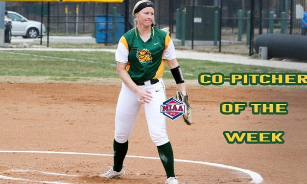 Atkin Captures MIAA Co-Pitcher of the Week Honors