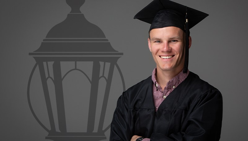 Ryan Drendel named 2019 Outstanding Graduate