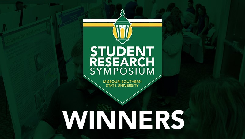 Winners announced for 2019 Student Research Symposium