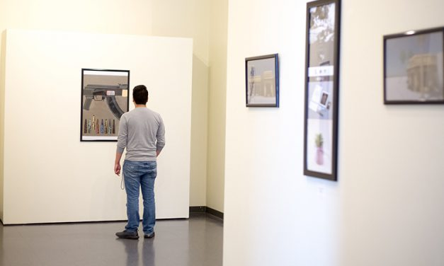 Art majors showcase work in annual Senior Exhibit