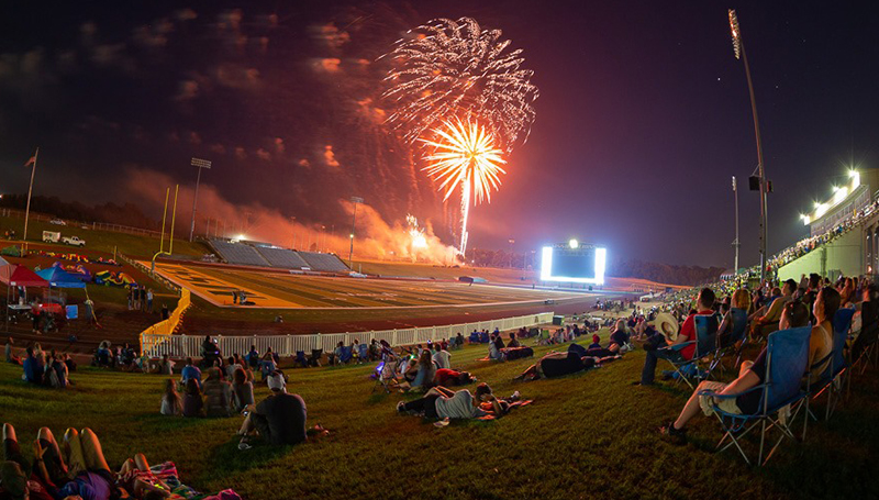 Boom! Southern hosts city's annual Fourth of July event
