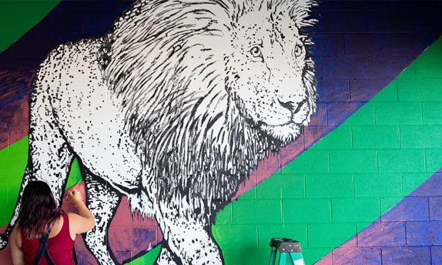 Pride of Joplin: New mural taking shape under Sixth Street viaduct