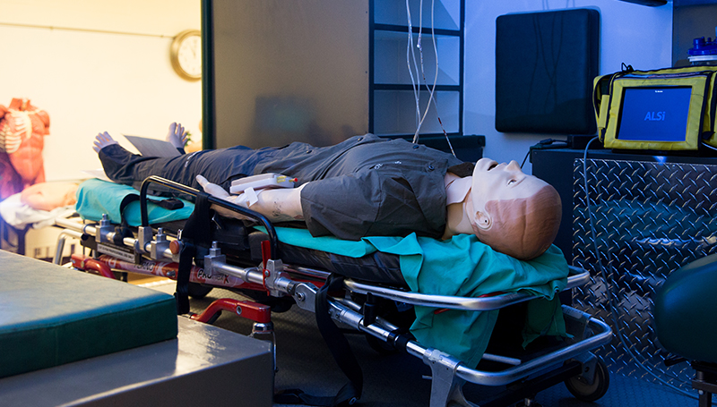 Ribbon cutting planned for EMS Sim Lab