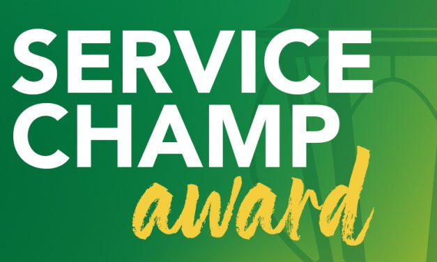 Staff Senate seeks nominees for Service Champ award