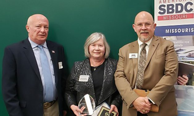 Bradshaw honored for SBDC service