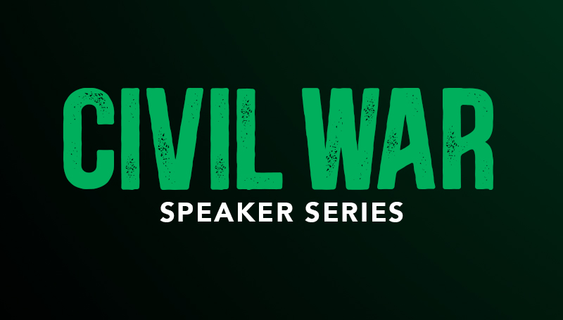 Civil War speaker series to begin Nov. 11