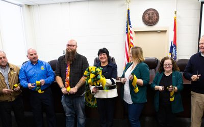 Ribbon-cutting held for new mock courtroom