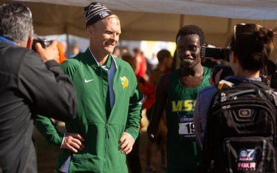 Burnham and Kimutai Repeat As Regional Coach/Athlete of the Year