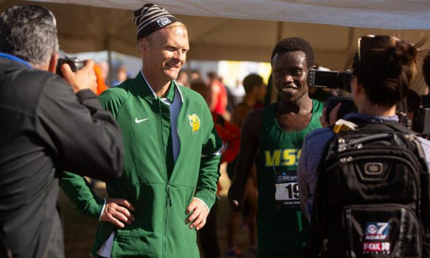 Burnham and Kimutai Repeat As Regional Coach/Athlete of the Year