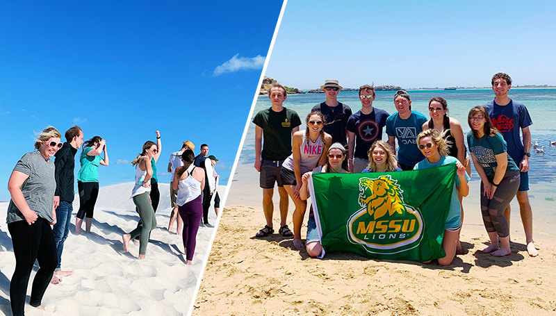 Traveling to a land Down Under: Course takes students far beyond the classroom