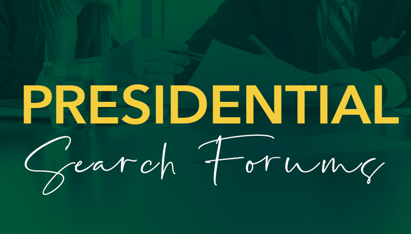 Faculty, staff make voices heard during presidential search forums